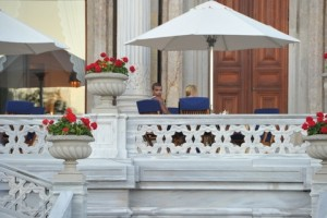 Madonna at the Ciragan Palace, Istanbul  - 8 June 2012 (14)