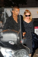 Madonna and Brahim Zaibat at the Molto restaurant - 10 June 2012 (3)