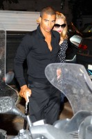 Madonna and Brahim Zaibat at the Molto restaurant - 10 June 2012 (4)