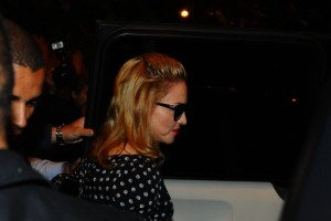 Madonna and Brahim Zaibat at the Molto restaurant - 10 June 2012 (11)