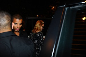 Madonna and Brahim Zaibat at the Molto restaurant - 10 June 2012 (12)