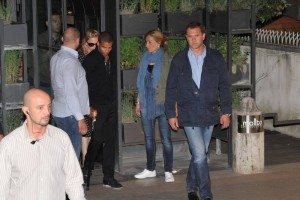 Madonna and Brahim Zaibat at the Molto restaurant - 10 June 2012 (14)
