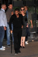 Madonna and Brahim Zaibat at the Molto restaurant - 10 June 2012 (15)