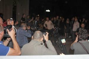 Madonna and Brahim Zaibat at the Molto restaurant - 10 June 2012 (18)