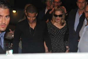 Madonna and Brahim Zaibat at the Molto restaurant - 10 June 2012 (20)