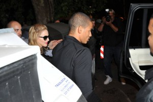 Madonna and Brahim Zaibat at the Molto restaurant - 10 June 2012 (22)