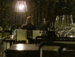 Madonna and Brahim Zaibat at the Molto restaurant - 10 June 2012 (23)
