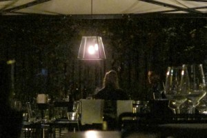 Madonna and Brahim Zaibat at the Molto restaurant - 10 June 2012 (24)