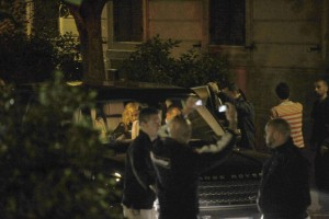 Madonna out and about in Rome - June 2012 (10)