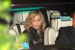 Madonna out and about in Rome - June 2012 (11)