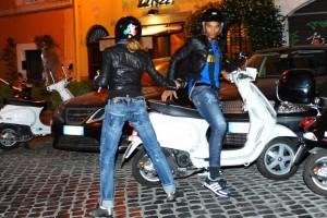 Madonna riding a Vespa in Rome - 13 June 2012 (18)