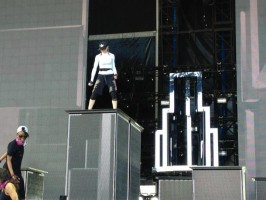 MDNA Tour - Florence - 16 June 2012 - Soundcheck (2)