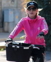 Madonna out and about in Florence, Italy - 16 June 2012 (1)