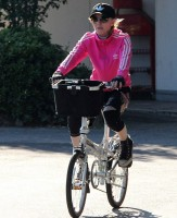 Madonna out and about in Florence, Italy - 16 June 2012 (2)