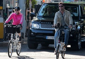 Madonna out and about in Florence, Italy - 16 June 2012 (3)