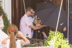 Madonna on the set of Turn up the Radio - 18 June 2012 (2)
