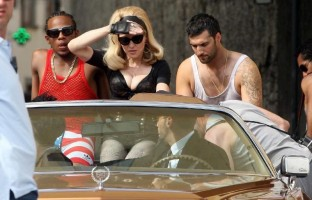 Madonna on the set of Turn up the Radio - 18 June 2012 - Part 3 (18)