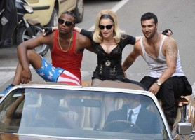 Madonna on the set of Turn up the Radio - 18 June 2012 - Part 3 (23)