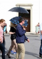 On the set of Turn up the Radio - Florence - Madonna (3)