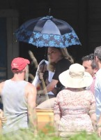 On the set of Turn up the Radio - Florence - Madonna (19)