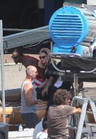 On the set of Turn up the Radio - Florence - Madonna (23)
