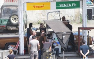 On the set of Turn up the Radio - Florence - Madonna (30)