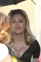 On the set of Turn up the Radio - Florence - Madonna (39)