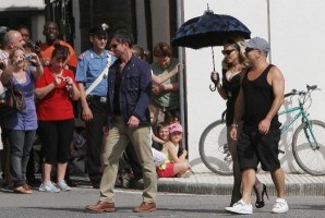 On the set of Turn up the Radio - Florence - Madonna (46)