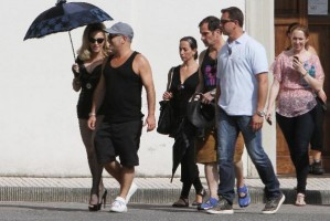 On the set of Turn up the Radio - Florence - Madonna (48)
