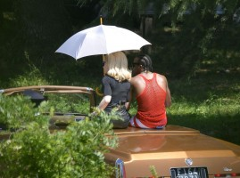 On the set of Turn up the Radio - Madonna - Florence - Part 2 (2)