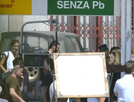 On the set of Turn up the Radio - Madonna - Florence - Part 2 (3)