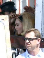 On the set of Turn up the Radio - Madonna - Florence - Part 2 (4)
