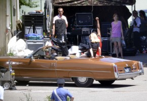 On the set of Turn up the Radio - Madonna - Florence - Part 2 (6)