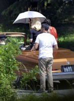 On the set of Turn up the Radio - Madonna - Florence - Part 2 (7)