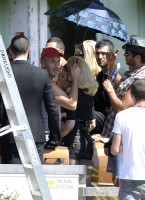 On the set of Turn up the Radio - Madonna - Florence - Part 2 (9)