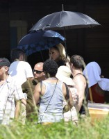 On the set of Turn up the Radio - Madonna - Florence - Part 2 (14)