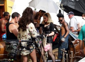 Madonna on the set of Turn up the Radio - 18 June 2012 - Part 3 (10)