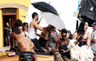 Madonna on the set of Turn up the Radio - 18 June 2012 - Part 3 (11)