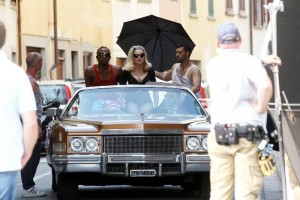 Madonna on the set of Turn up the Radio - 18 June 2012 - Part 3 (15)