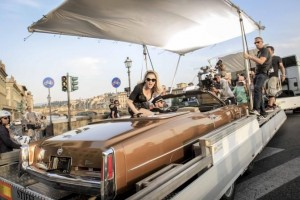 On the set of Turn up the Radio - Madonna - Florence - 19 June 2012 (1)