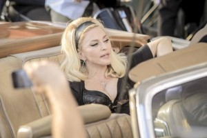 On the set of Turn up the Radio - Madonna - Florence - 19 June 2012 (5)