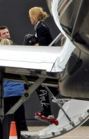 Madonna at the Luton Airport, London - 23 June 2012 (1)