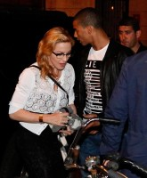 Madonna out and about in Amsterdam (1)