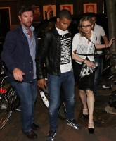 Madonna out and about in Amsterdam (2)
