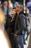 Madonna visiting the Notre Dame in Paris (24)