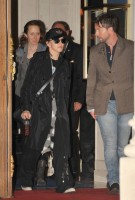 Madonna leaving the Ritz Hotel, Paris (1)