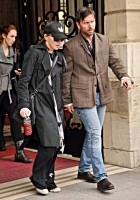 Madonna leaving the Ritz Hotel, Paris (3)