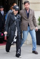 Madonna leaving the Ritz Hotel, Paris (6)