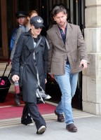 Madonna leaving the Ritz Hotel, Paris (7)