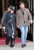 Madonna leaving the Ritz Hotel, Paris (8)
